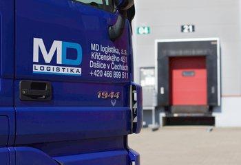 Logistická společnost nabízí své služby na strategickém místě Praha 9 - Horní Počernice - D11.
