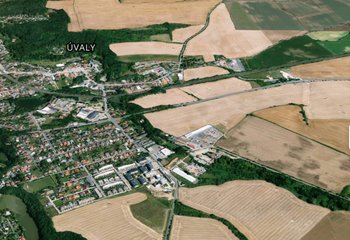 Sale, Land for commercial construction, 16000m² - Úvaly