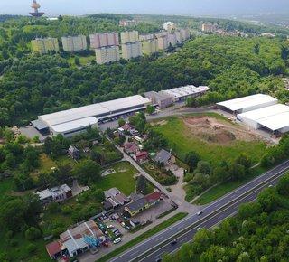 Pronájem skladových a výrobních prostor - Teplice