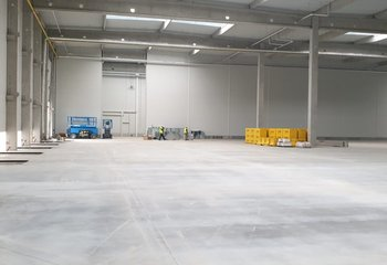 Lease of a modern logistics warehouse in the Žatec - Velemyšleves locality near the D7 motorway.