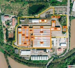 Pronájem skladových a výrobních prostor Havlíčkův Brod