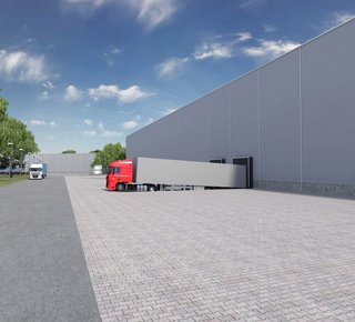 Warehouse park for rent - Stříbro