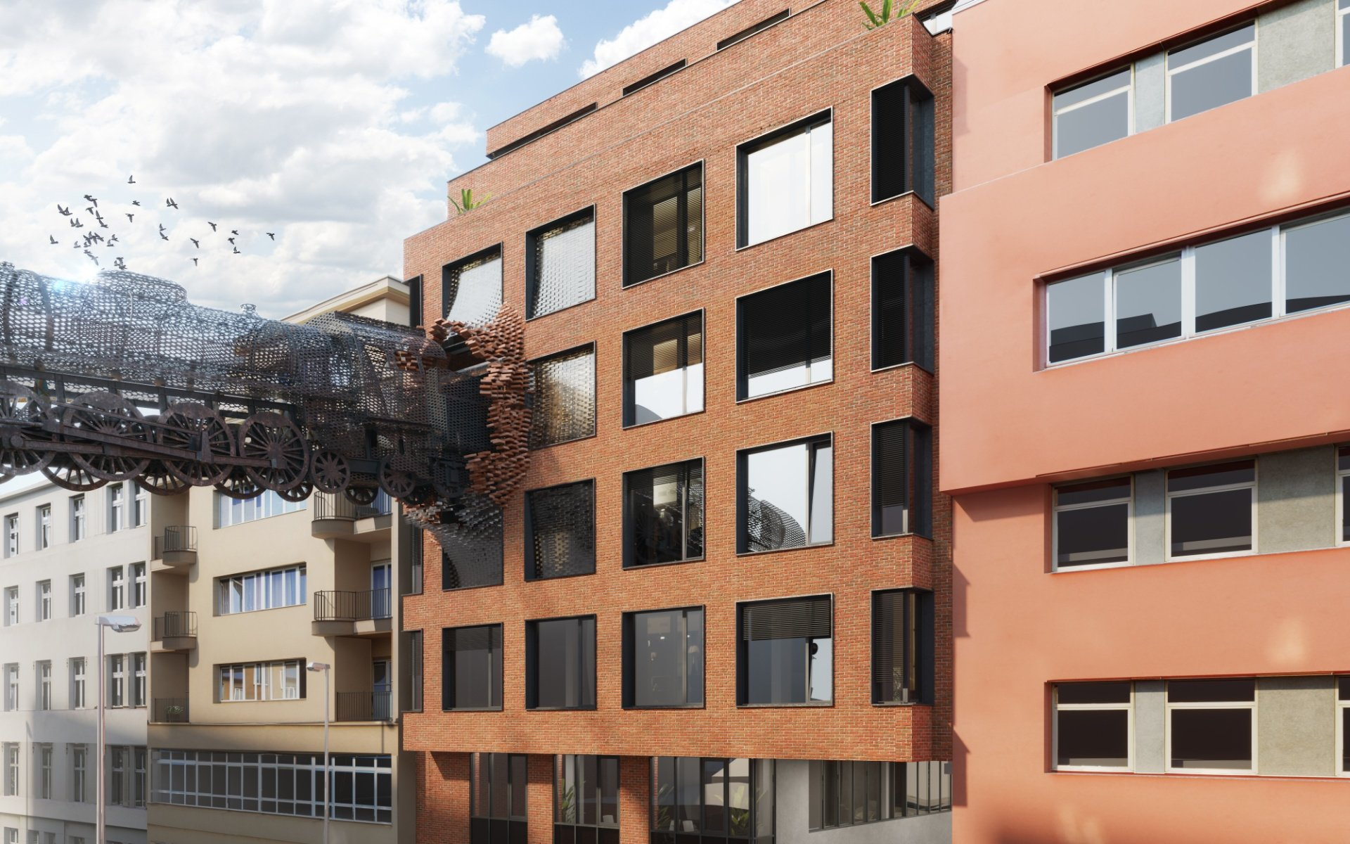 Lease, Commercial Offices, 0m² - Praha - Libeň