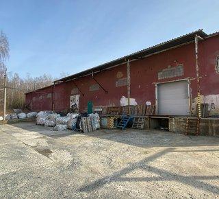 Pronájem skladových a výrobních prostor - Újezdeček u Teplic - 1100 m2