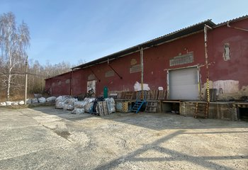 Warehouse and production space for rent - Újezdeček u Teplic - 1100 m2