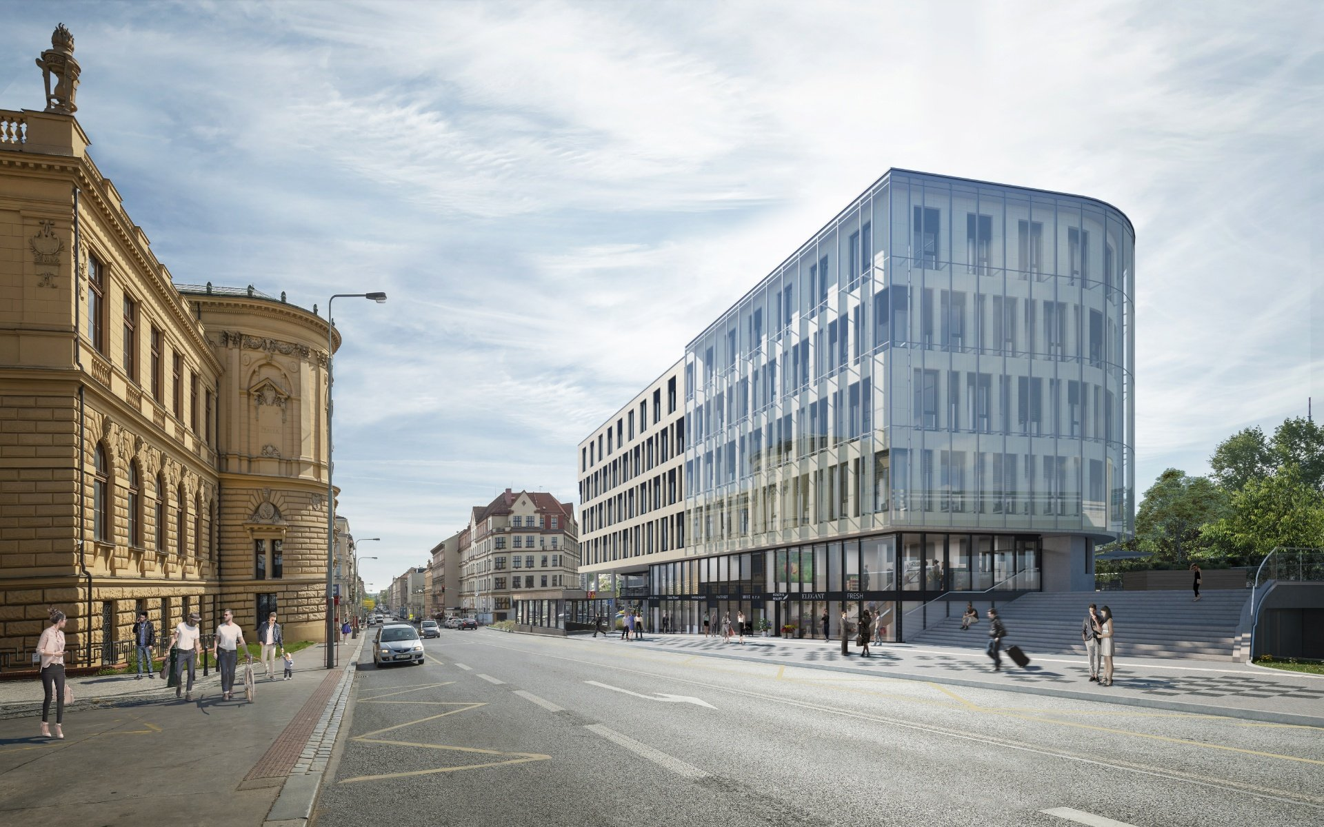 Lease, Commercial Offices, 0m² - Praha - Karlín