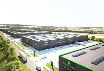 EAST Park Olomouc - Vermietung von Lager- und Produktionsflächen