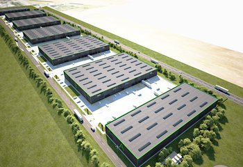 EAST Park Olomouc - lease of warehouse and production space