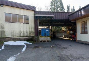 Pronájem skladových a výrobních prostor - Těchonín