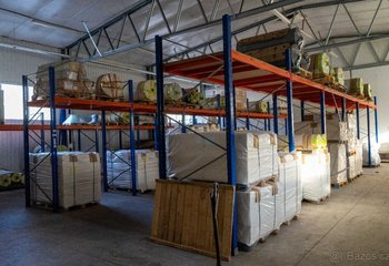Lease of warehouse and production premises - Těchonín