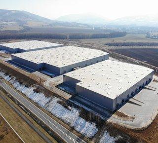 Logistics Park Nošovice - pronájem skladových a výrobních prostor