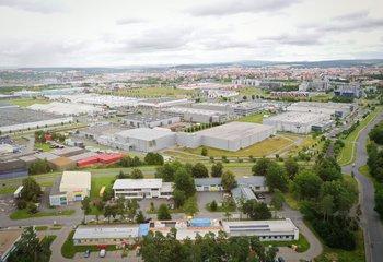 Pronájem skladových a výrobních prostor - Plzeň - Skvrňany
