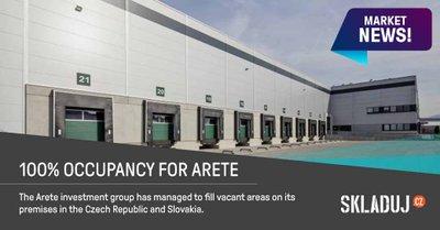 ARETE získala nové nájemce v České republice i na Slovensku