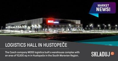 Nové logistické centrum vyrostlo v Hustopečích