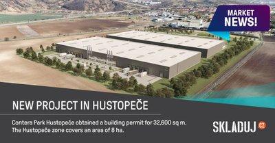 Contera má povolení stavět v Hustopečích haly s celkovou plochou 32.600 m2