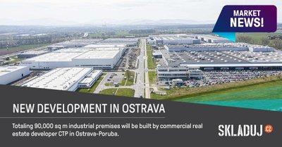 Společnost CTP Invest staví nový průmyslový park v Ostravě-Porubě