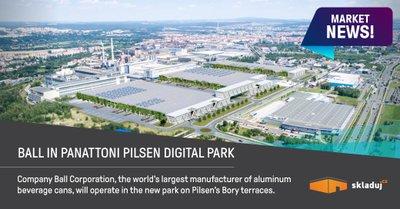 Ball Corporation bude využívat prostory v Panattoni Pilsen Digital Parku