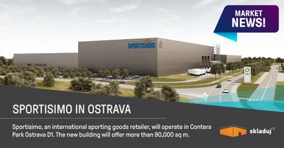 Sportisimo přesunuje svou logistickou základnu do Ostravy