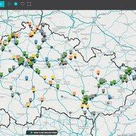 108 AGENCY představuje interaktivní mapu, která pomáhá uživatelům vyhledat optimální průmyslové prostory