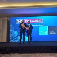 108 AGENCY sa stala už tretíkrát v rade držiteľom ocenenia  HOF Awards 2021