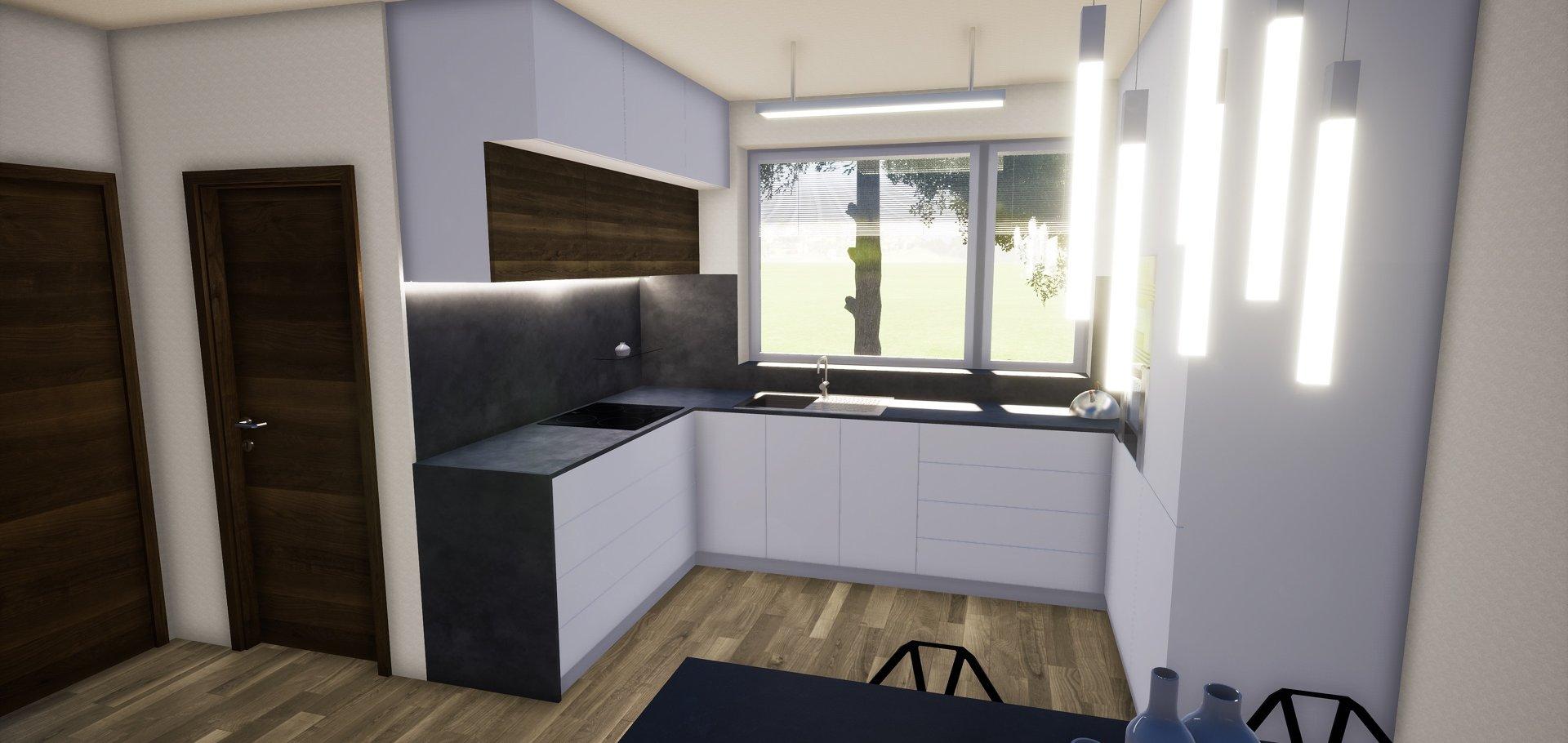 Novostavba rodinného domu 5+kk, 125m2, pozemek 614m2, Velký Dvůr u Pohořelic