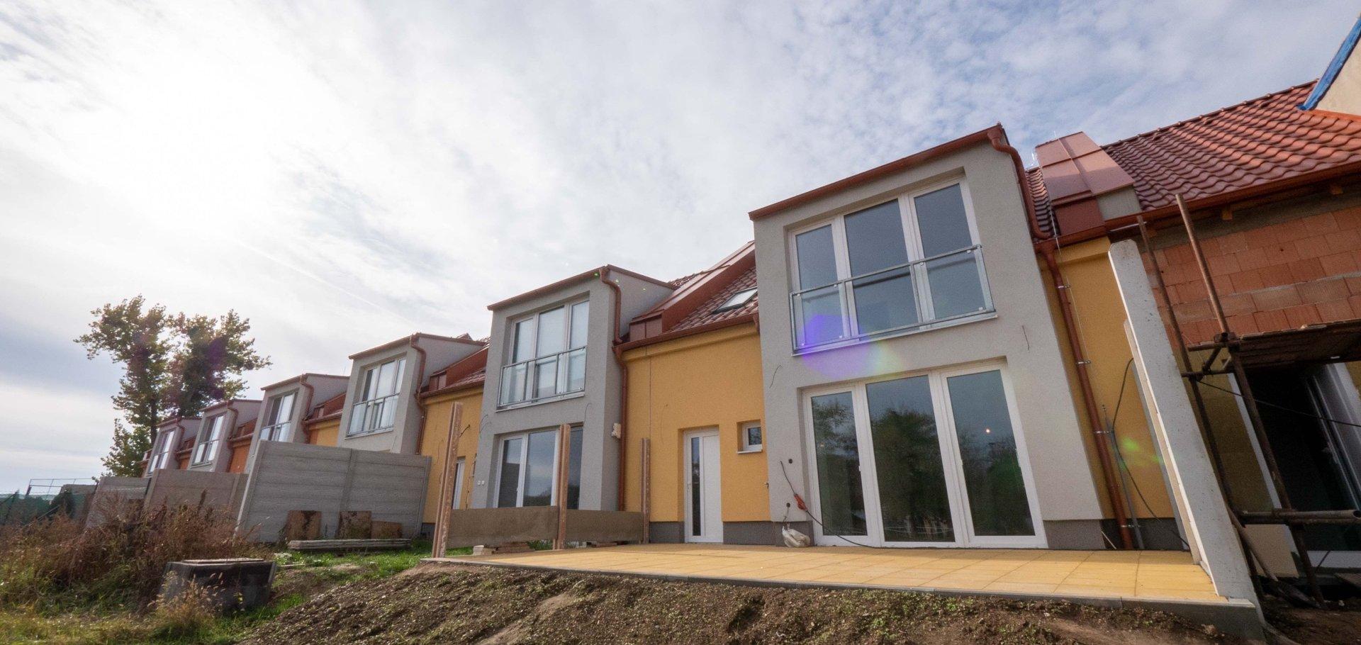 Novostavba rodinného domu 5+kk, 125m2, pozemek 777m2, Velký Dvůr u Pohořelic