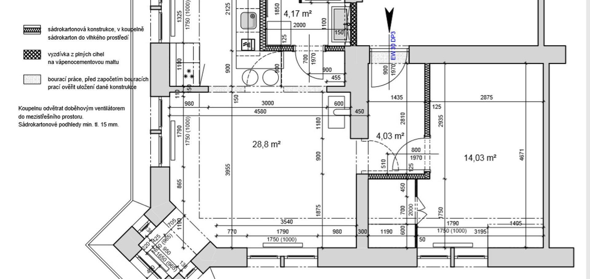 Prodej, Byty 2+kk, 57m² - Karlovy Vary - Rybáře