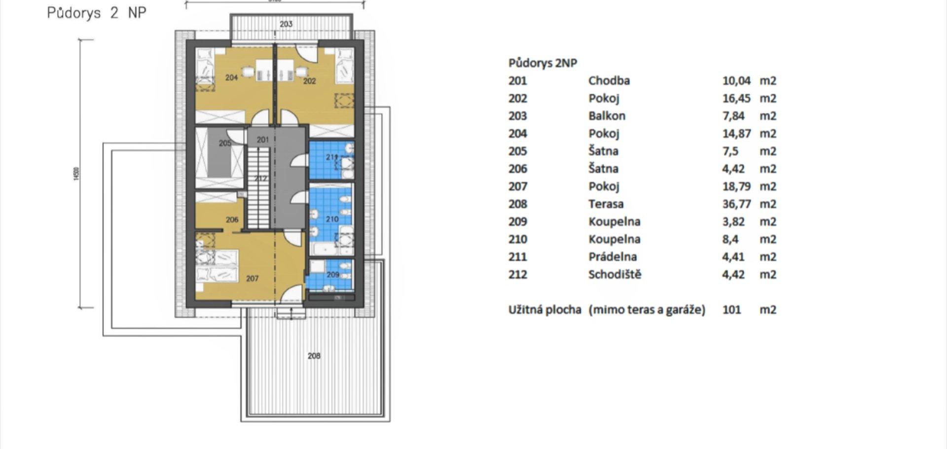 Prodej novostavby rodinného domu