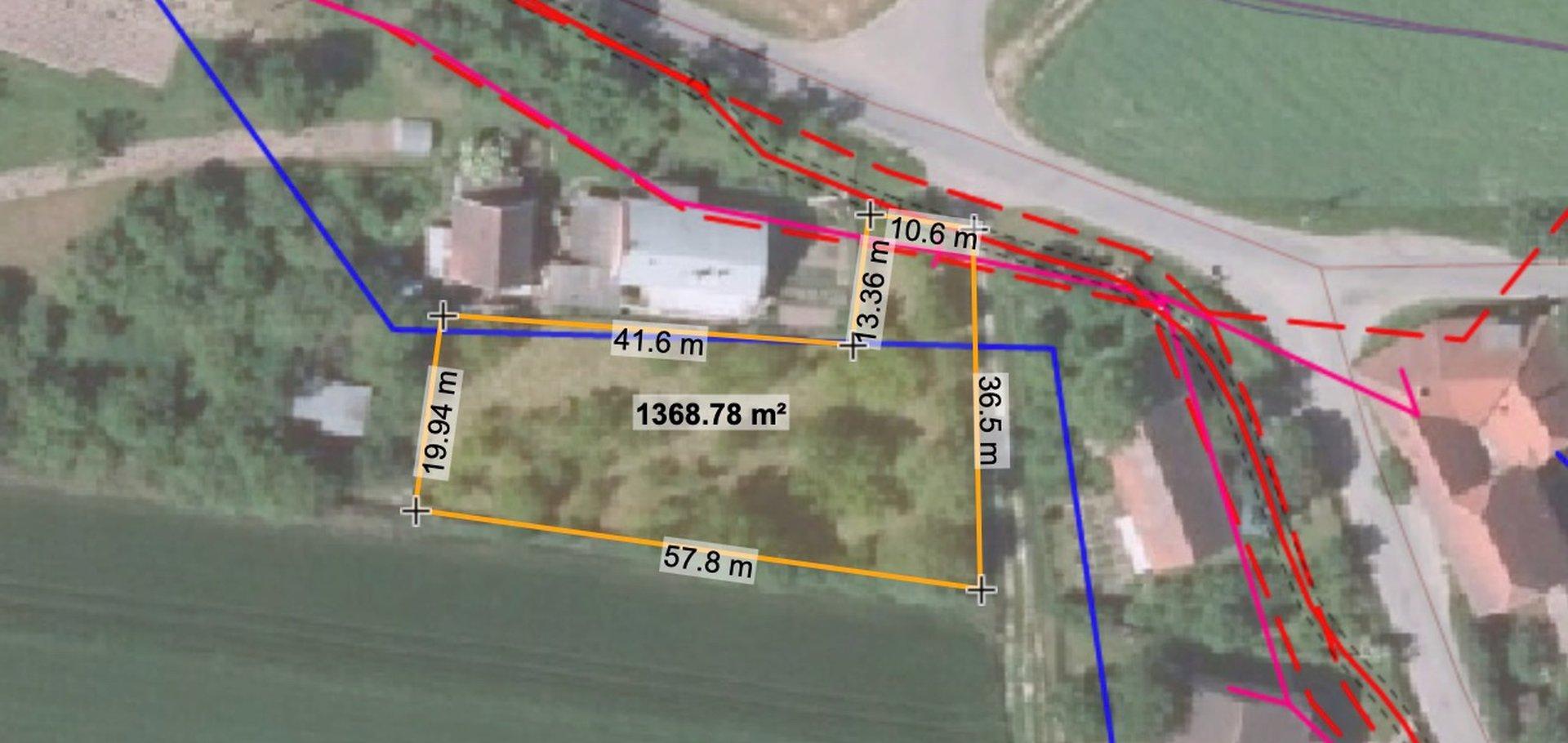 Prodej, Pozemky pro bydlení, 1.396 m²