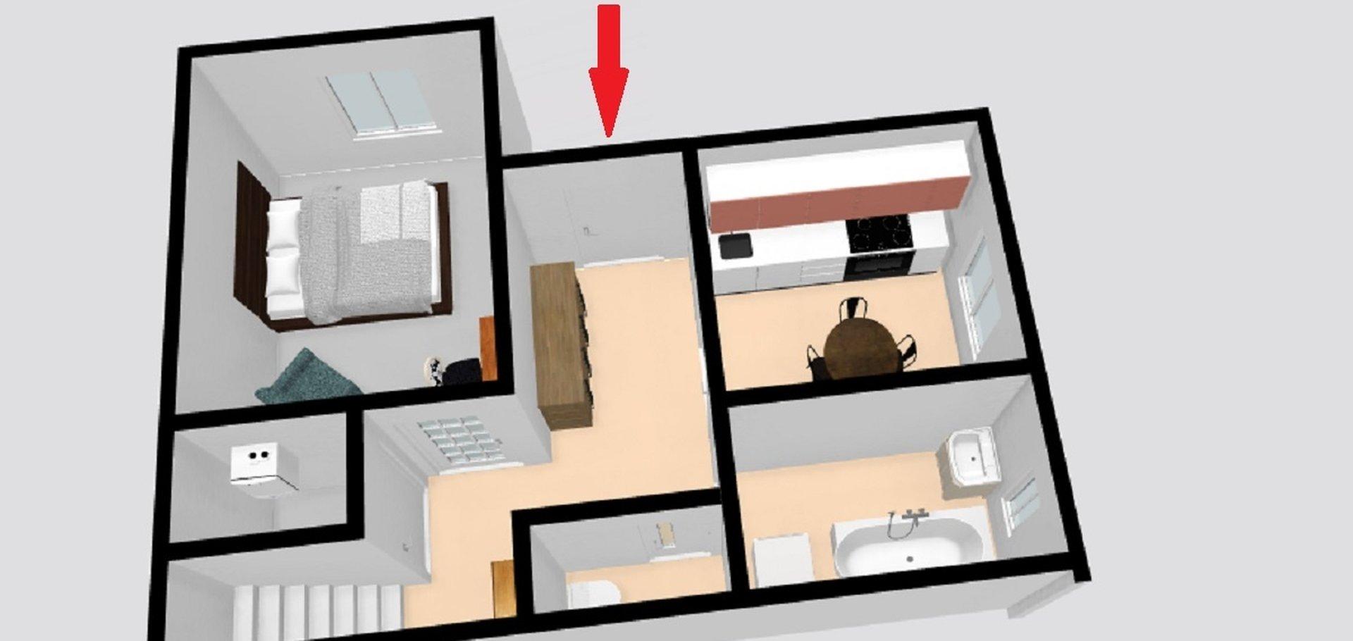 Prodej, Rodinné domy, 75m² - Bechlín