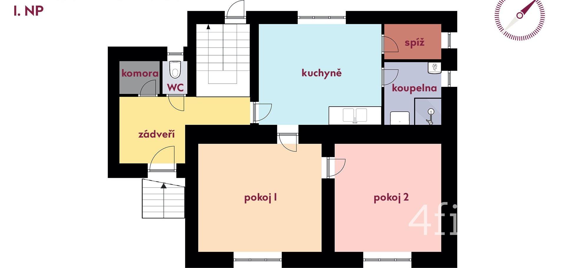Prodej, Rodinné domy, 120m² - Nový Hrozenkov