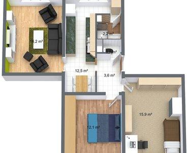 Krausovi - 1. Floor - 3D Floor Plan