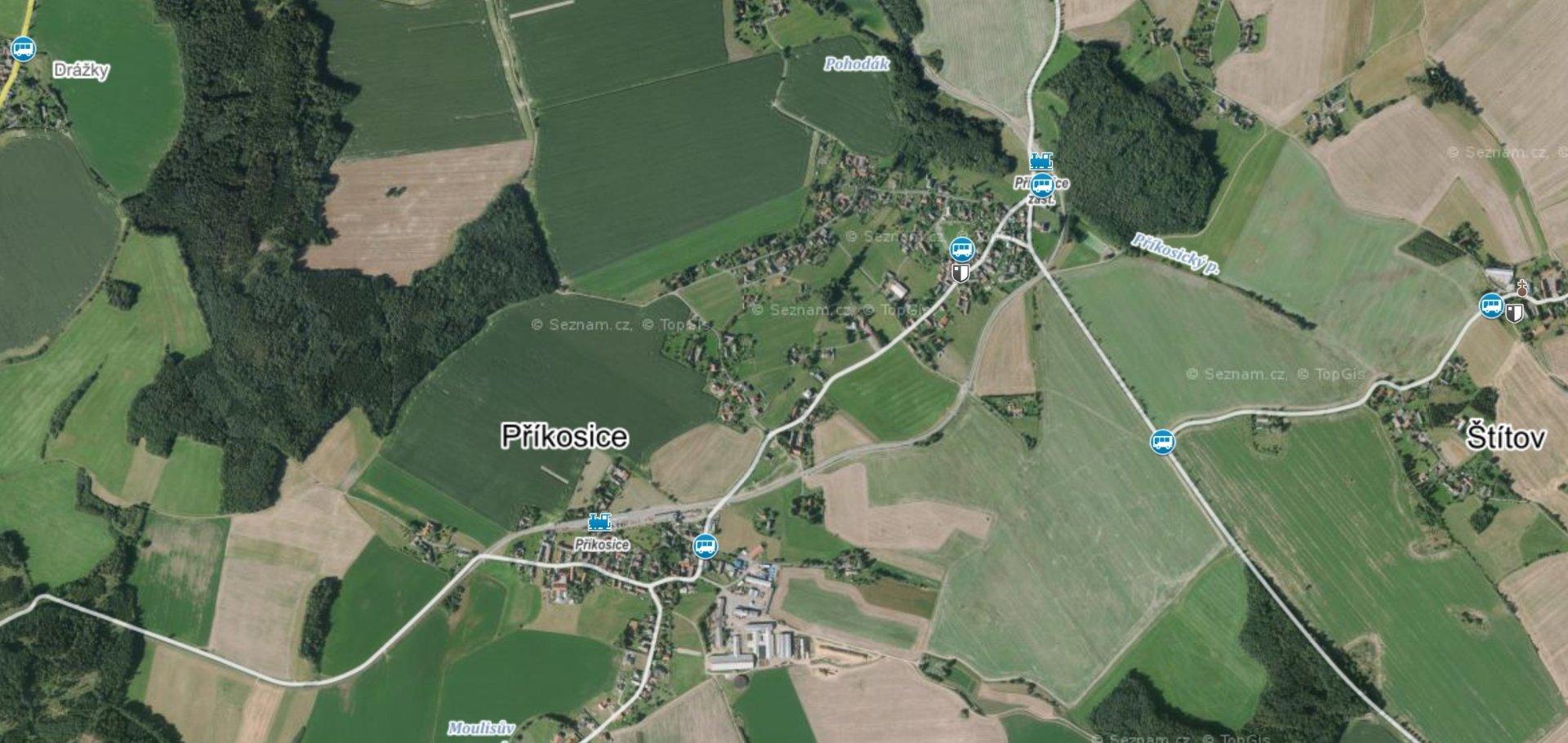 Prodej, Zemědělská půda, 46.993 m² - Příkosice