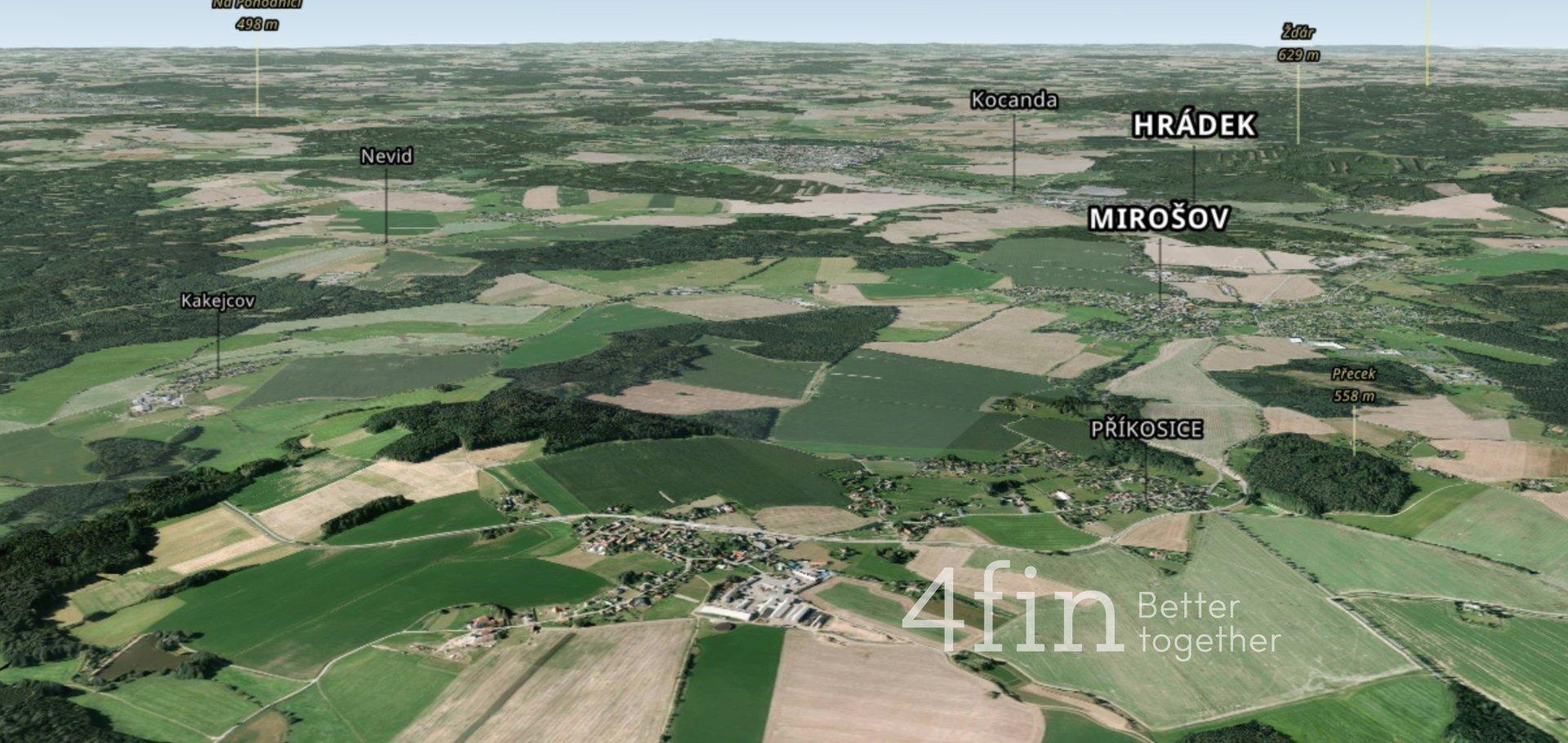 Prodej, Zemědělská půda, 46 993 m² - Příkosice
