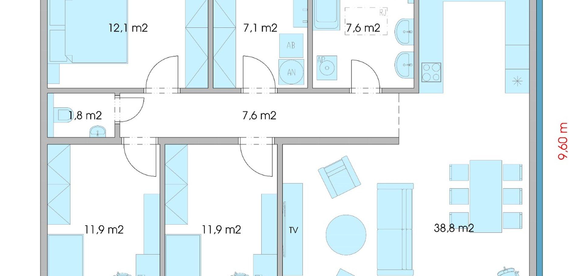 Prodej, Rodinné domy, 100m² - Votice
