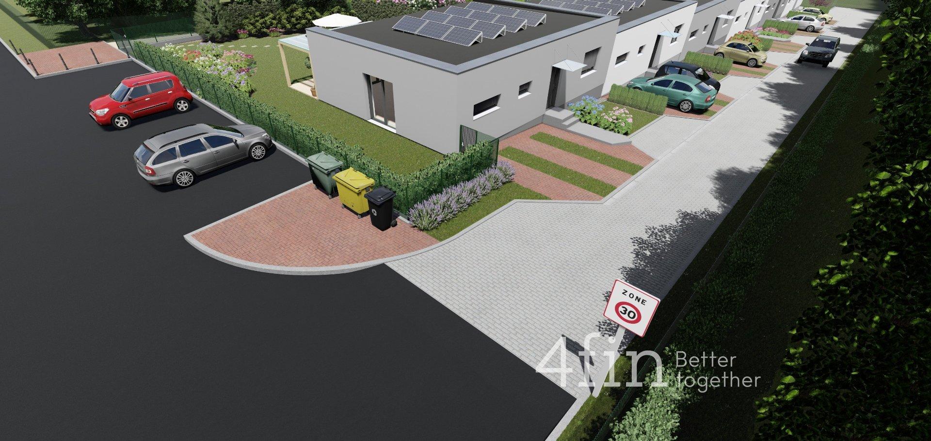 Prodej pasivního řadového domu, 100m² - Votice