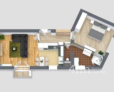 Sudova - plán bytu