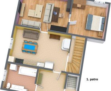 Hlavní dům 1. patro