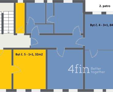 Novotný Dalovice - 3. Floor - 2D Floor Plan
