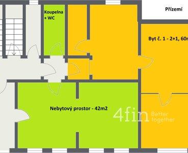 Novotný Dalovice - 1. Floor - 2D Floor Plan