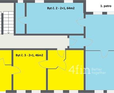 Novotný Dalovice - 2. Floor - 2D Floor Plan
