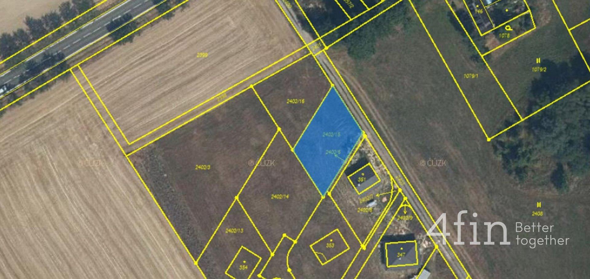 Prodej, Pozemky pro bydlení, 760 m² -