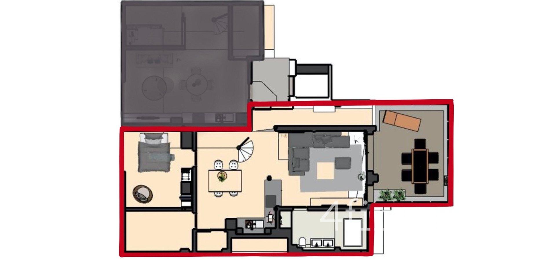 Prodej nového mezonetového bytu 4+kk s terasou, 132m² - Plzeň - Jižní Předměstí