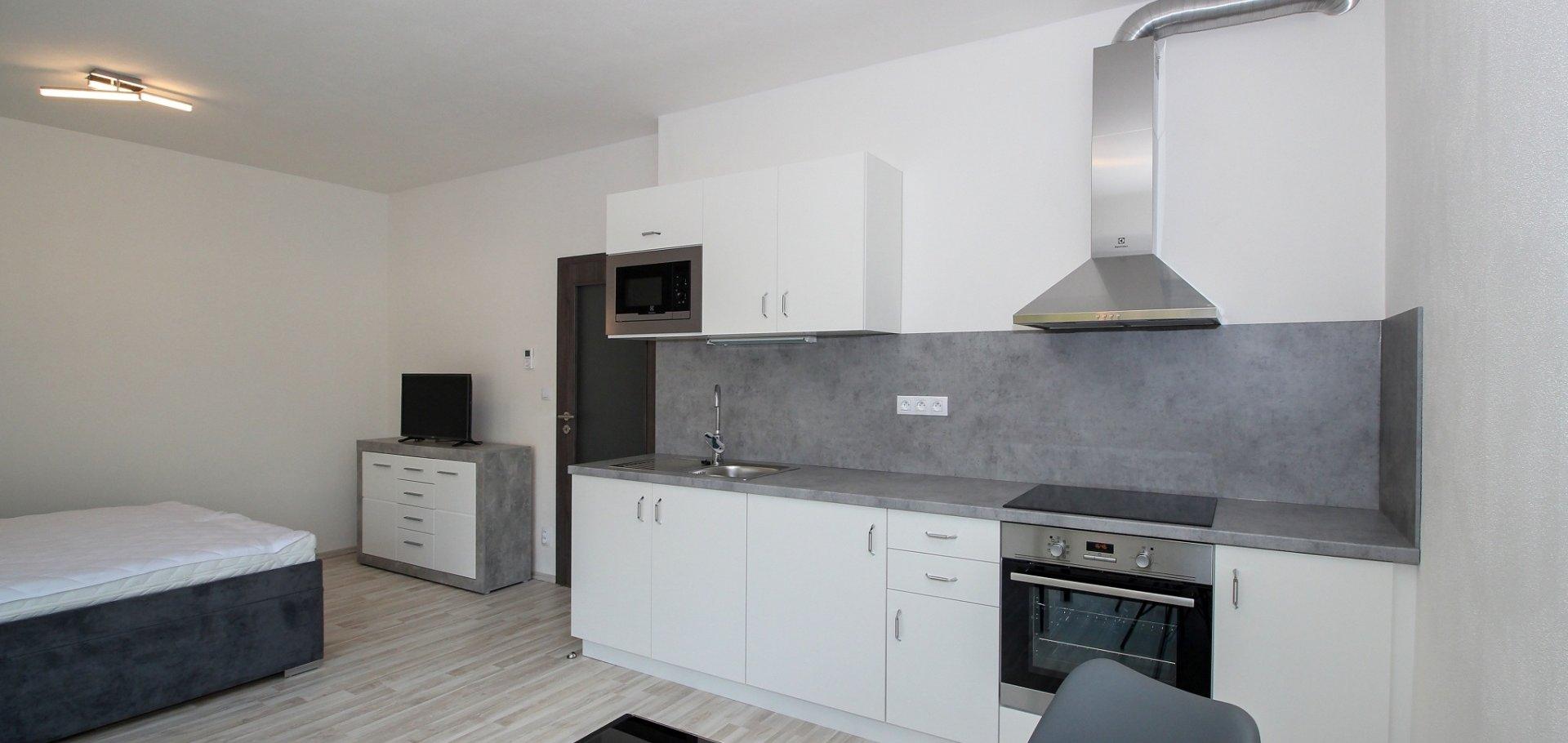 Pronájem bytu 1+kk, 36 m² - Plzeň - Valcha