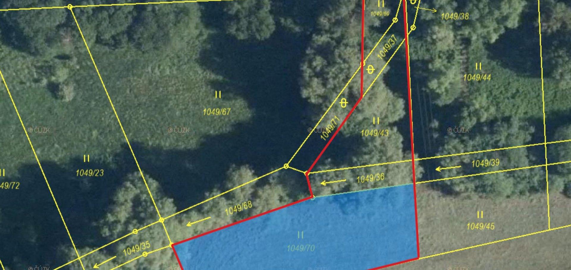 Prodej, Pozemky - trvalý travní porost, 1868 m² - Sulice - Želivec