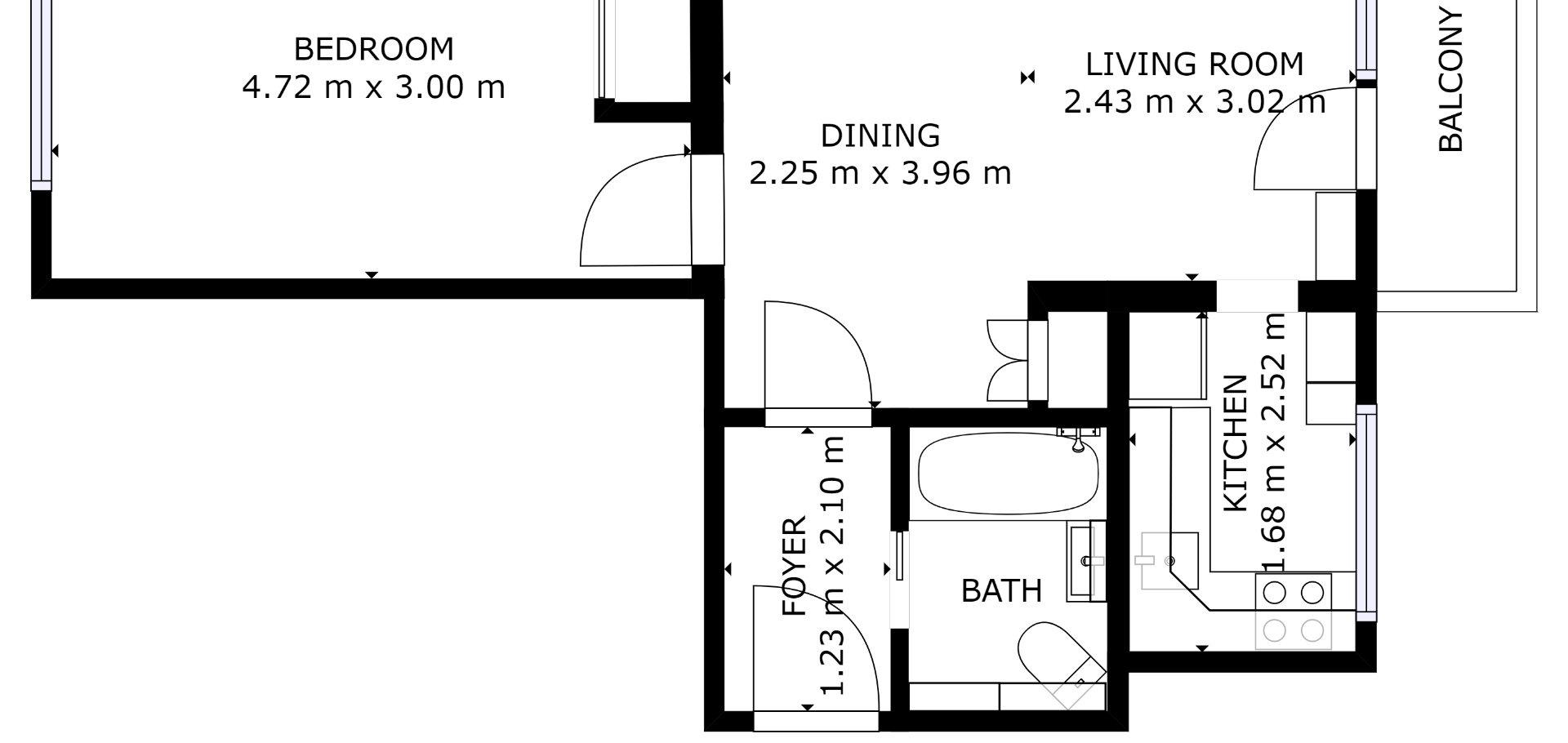 Prodej, bytu 2+kk, Milovice - Spojovací