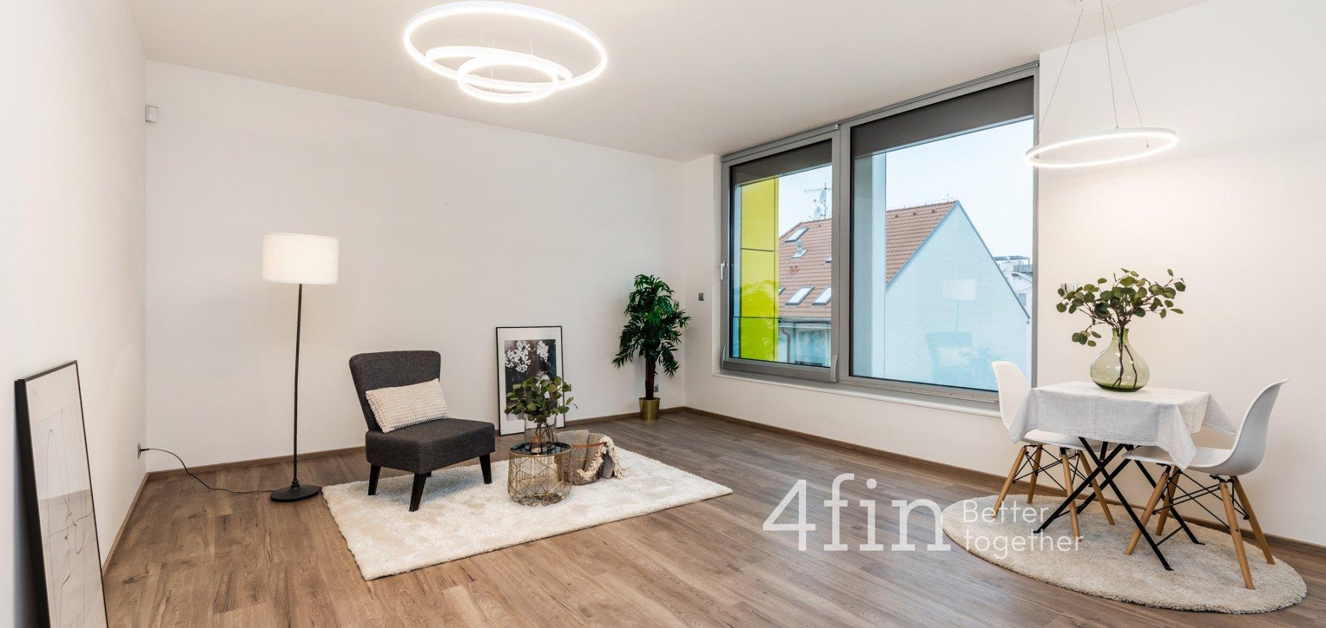 Pronájem luxusního bytu 2+kk, 55m² - Praha - Libeň
