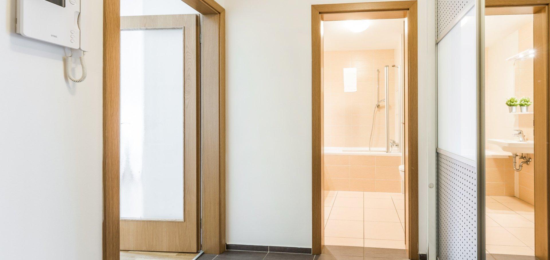 Pronájem moderního 1+kk, 41m² - Praha - Stodůlky