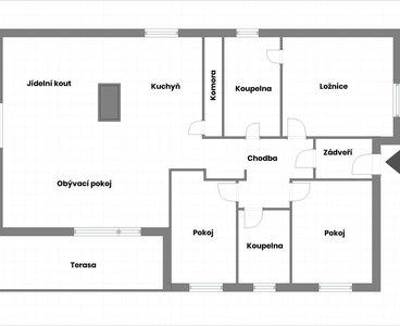 2D - místnosti