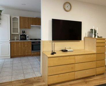 Detail obývací pokoj